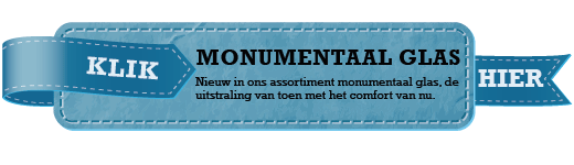 monumentenglas button