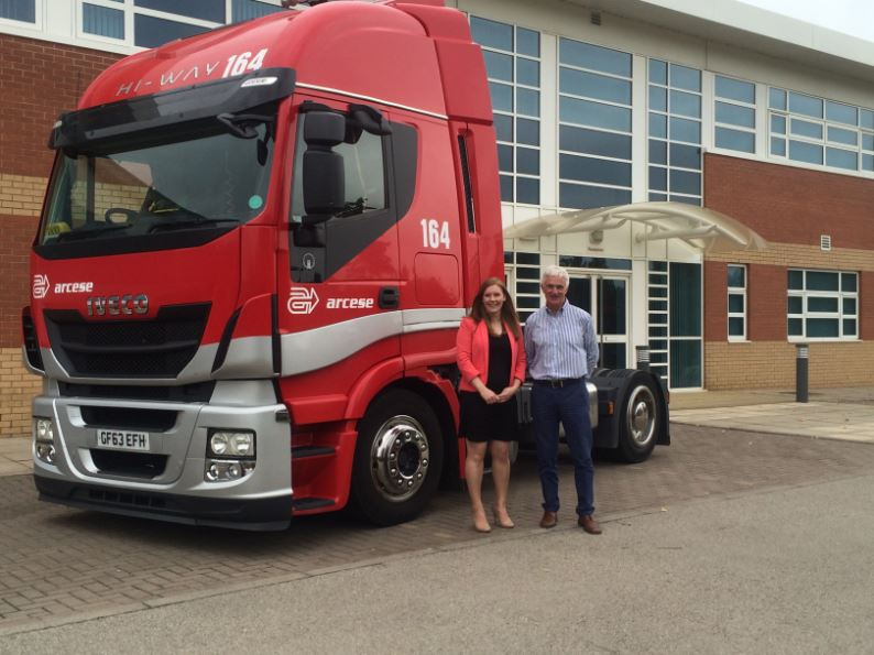 Iveco 164 Gemma Constantinou and Keith Luetchf
