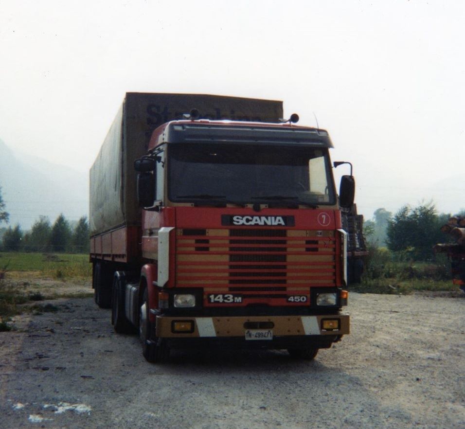 Scania 7 Andrea Colotti  1989