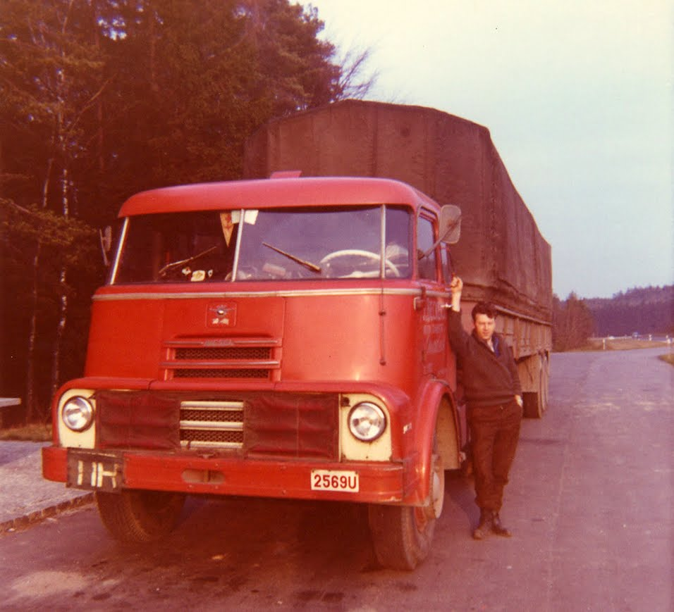 DAF DO  Fefruari 1966 Amsberg Pieré Beckers