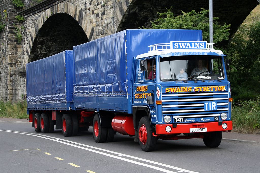 22 Swains Stretton Scania 141  V8