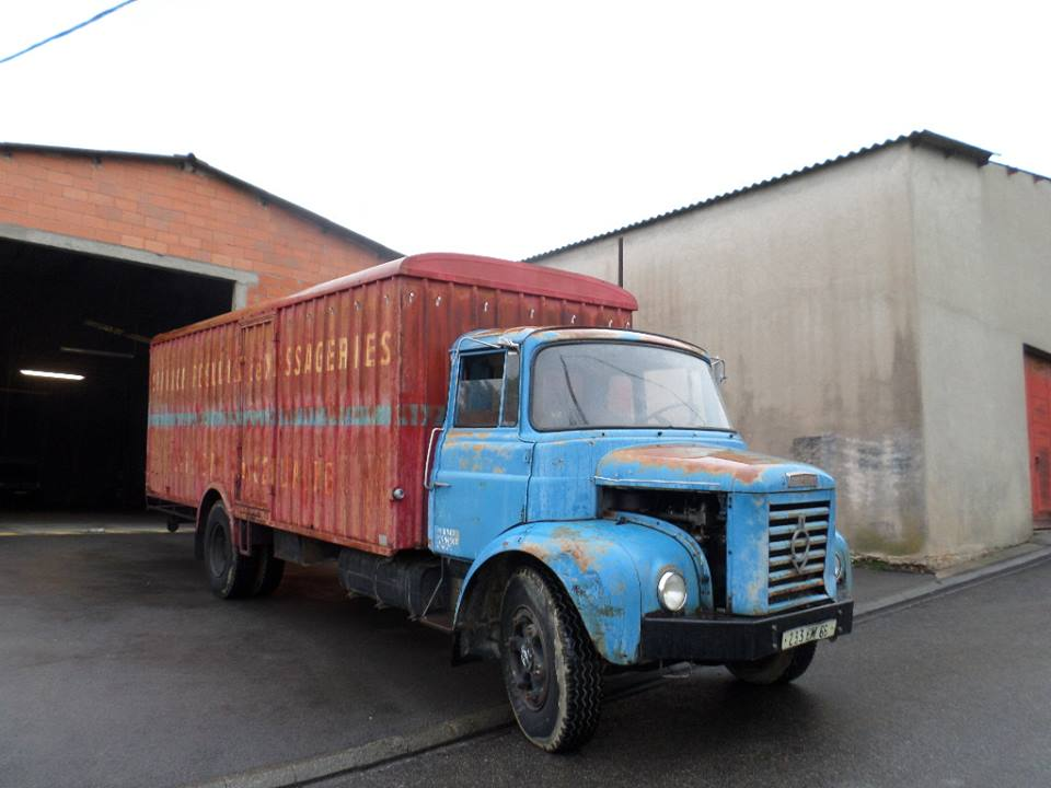 18 Berliet Cullell Transports Vernet les Bains 66