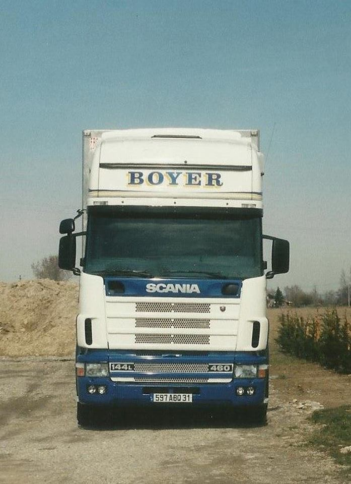 Scania 144L 460 Tony Monrosty