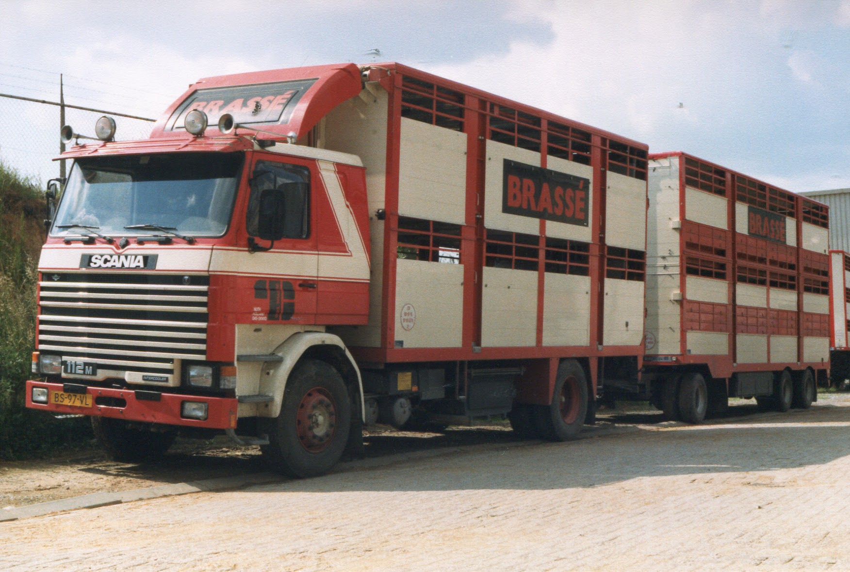 Scania Vee transport