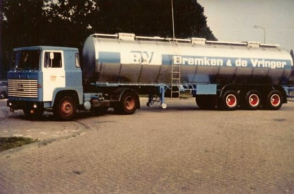 scania 110 3as trailer  chemie