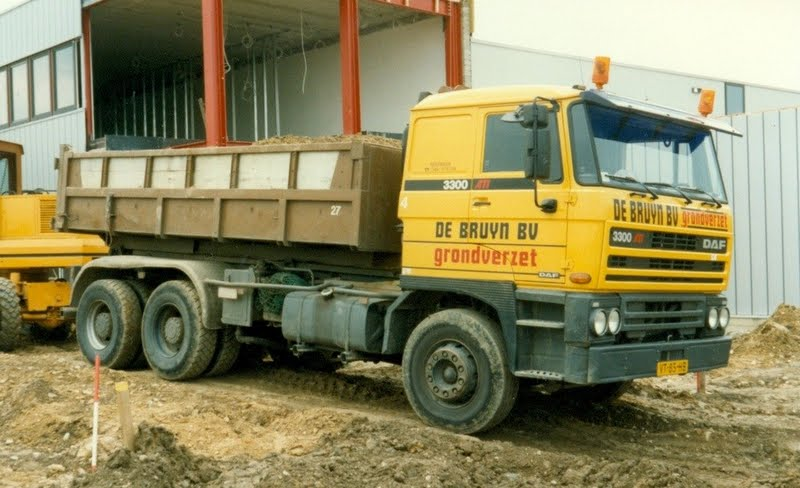 DAF FAT3300 Kipper de Bruyn