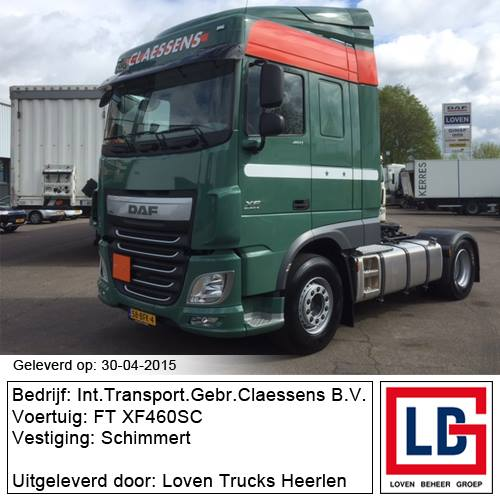 DAF FT XF460SC