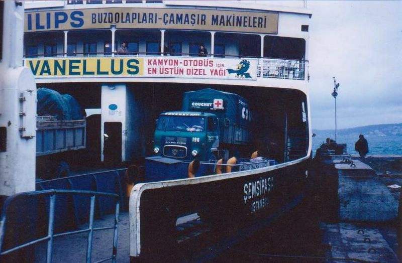 Ferry boot Istanbul