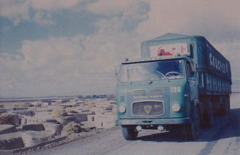 Scania LB 76 in Iran 1976