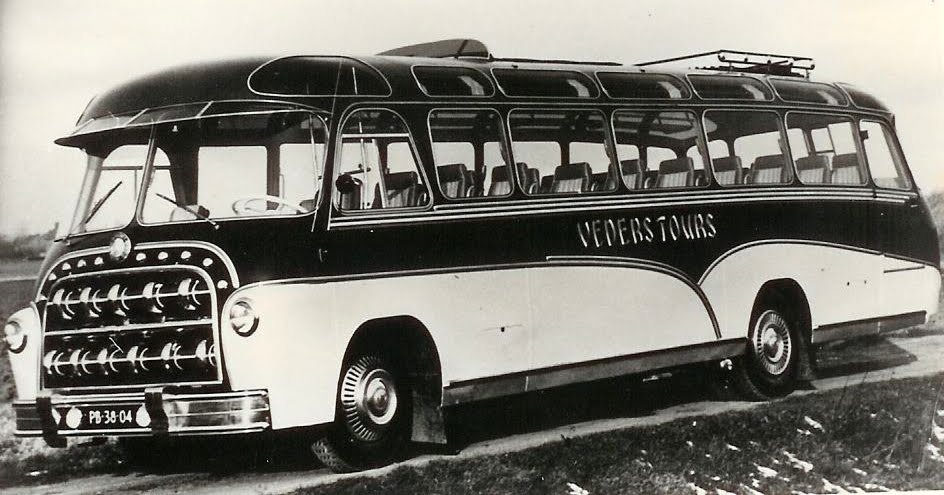 Veders 1955 8 Mercedes Domburg