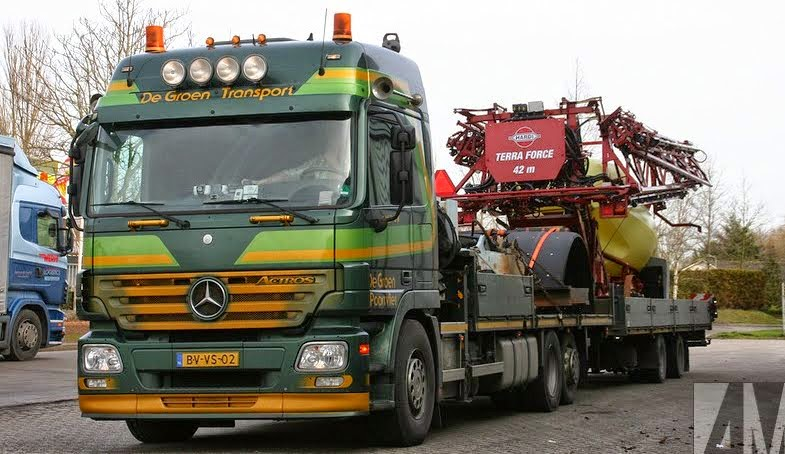 actros-mp2-mercedes benz Alex Miedema
