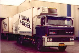 Stormvogel-koeltransport