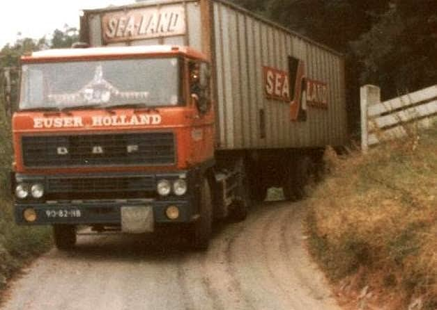 DAF 2800  MET SEALAND CONTAINER