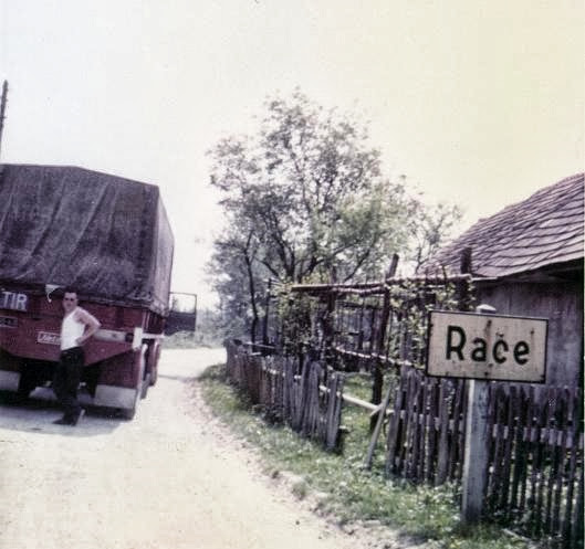 Jan Faassen in Race Slovenië. met de Fiat 682N3-be