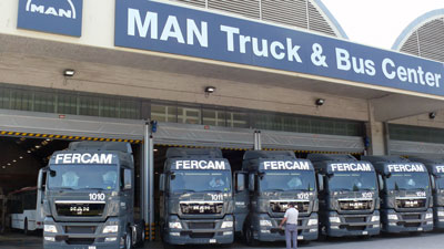 MAN 12 new Trucks