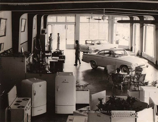 1960 gedeelde showroom.