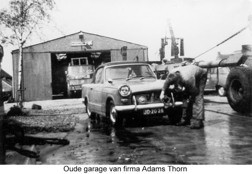 Adams Thorn en transport