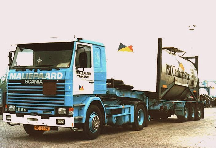 SCANIA 112Maliepaard  old P _ O BS 61 TY