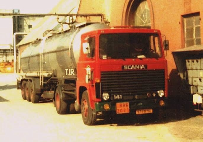 SCANIA 141 GENTENAAR 97 FB 96