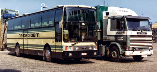 Scania 112 M Fiat Car. Vanhool Alisée