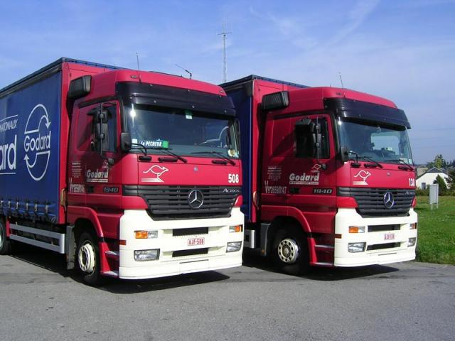 MB Actros Comby