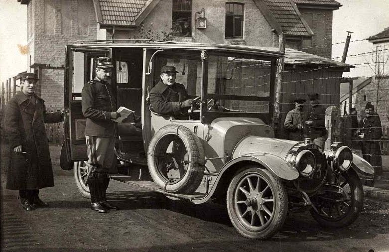Luitenant Willems 1915 in Eygelshoven_