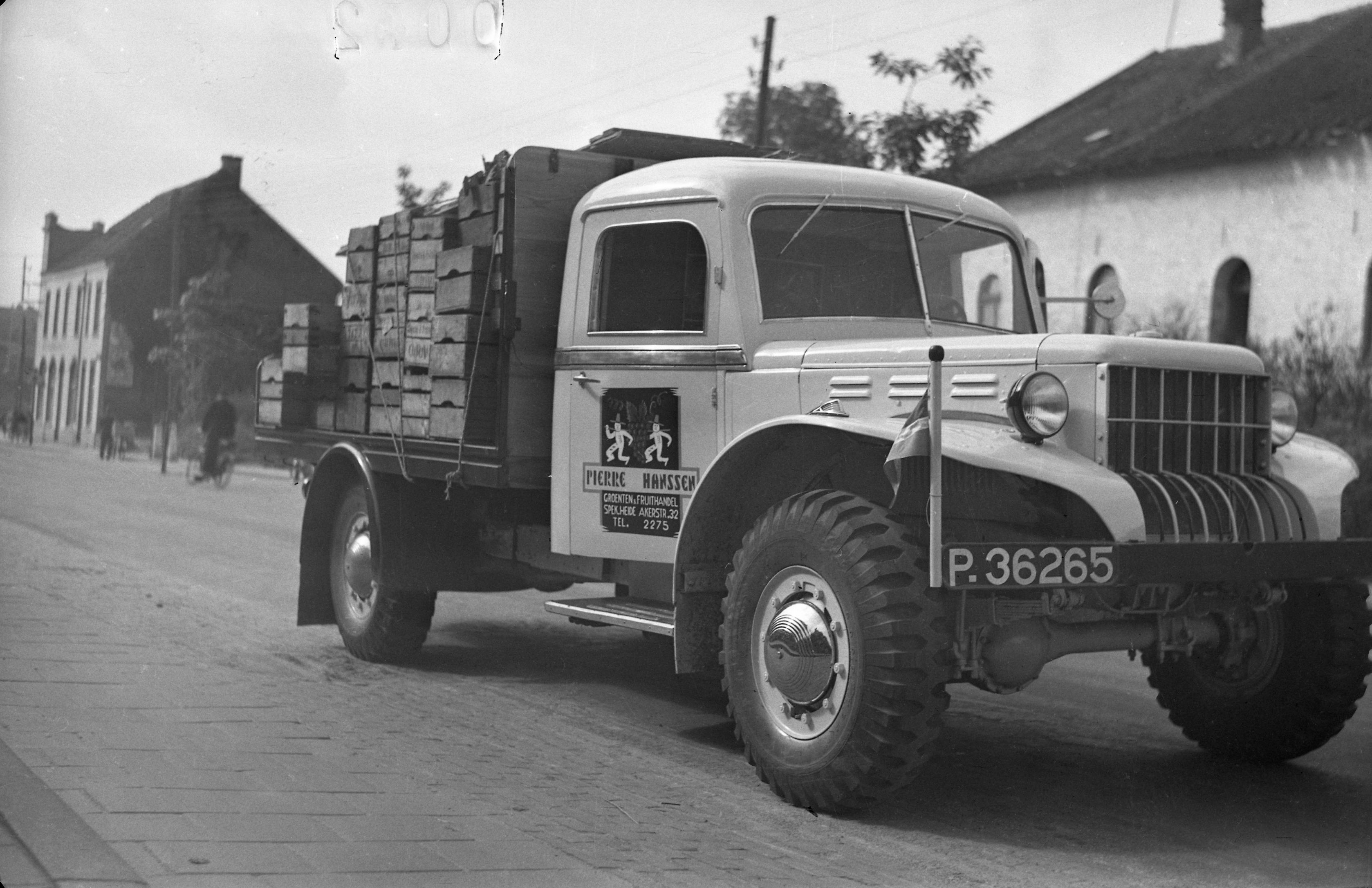 Dodge Beep WC Weapon Carrier 51 archief zoon Herman