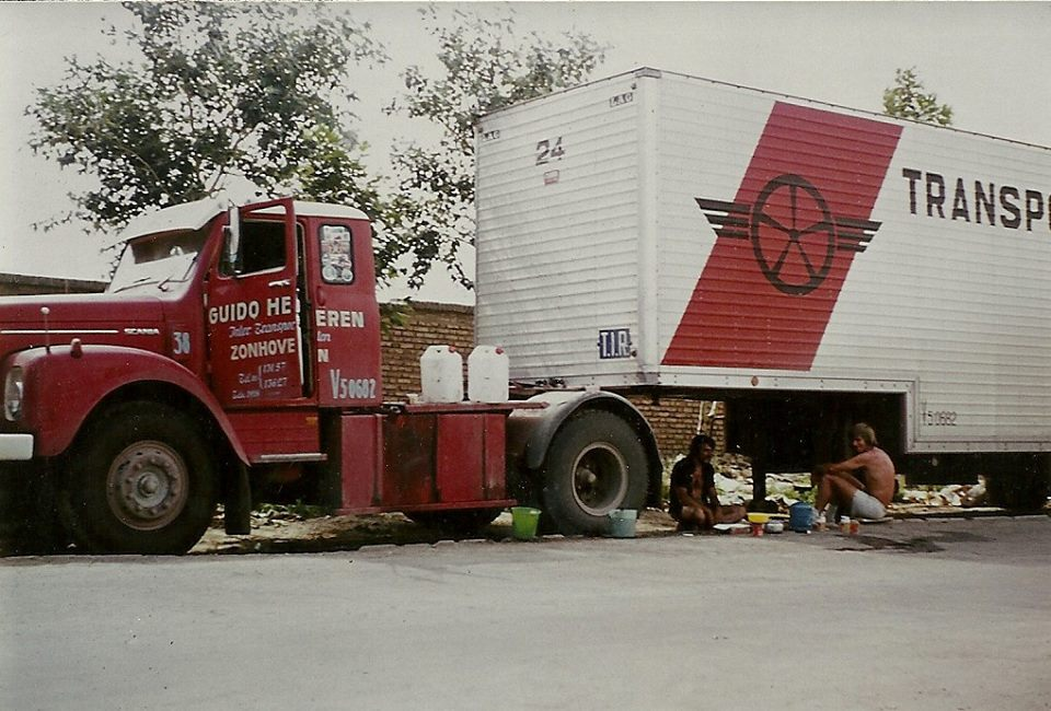 Scania in 1976 in Iran