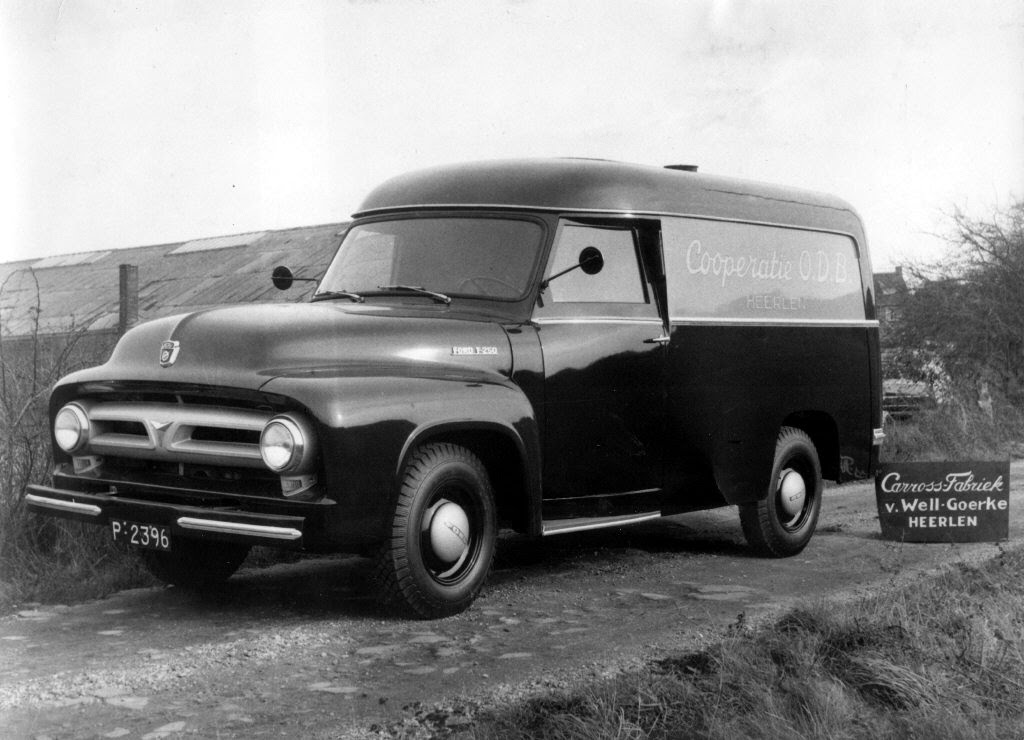 6 Ford 250 car. van Well -Goerke