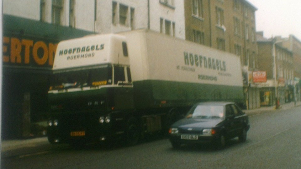 DAF Topsleeper in UK Sjaak Scheurs