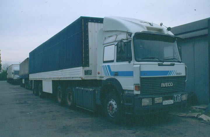 Iveco TS truck 6X4
