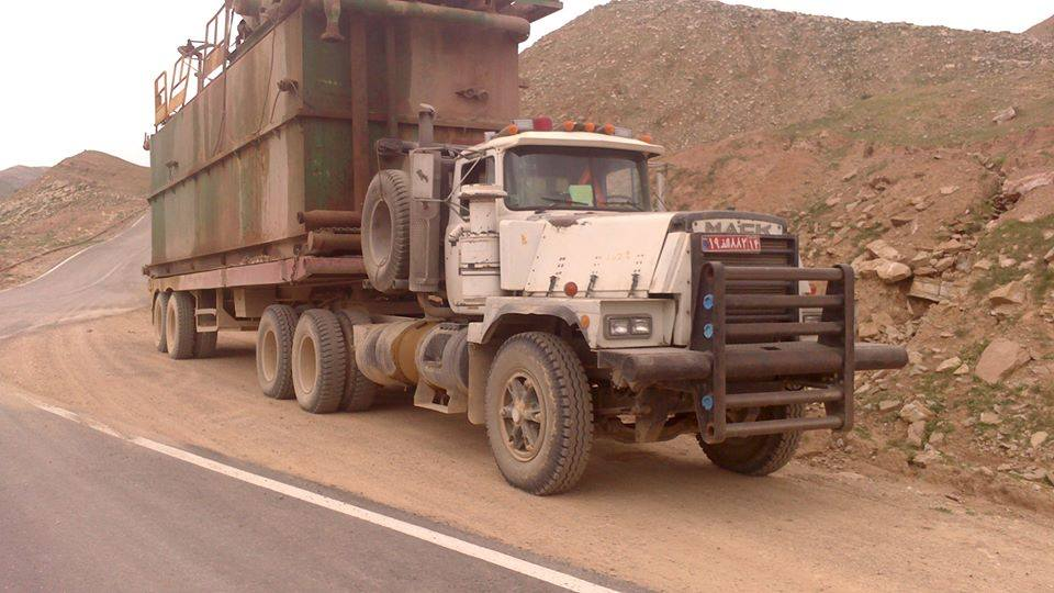 MACK 1991 Motor 650 intercoler