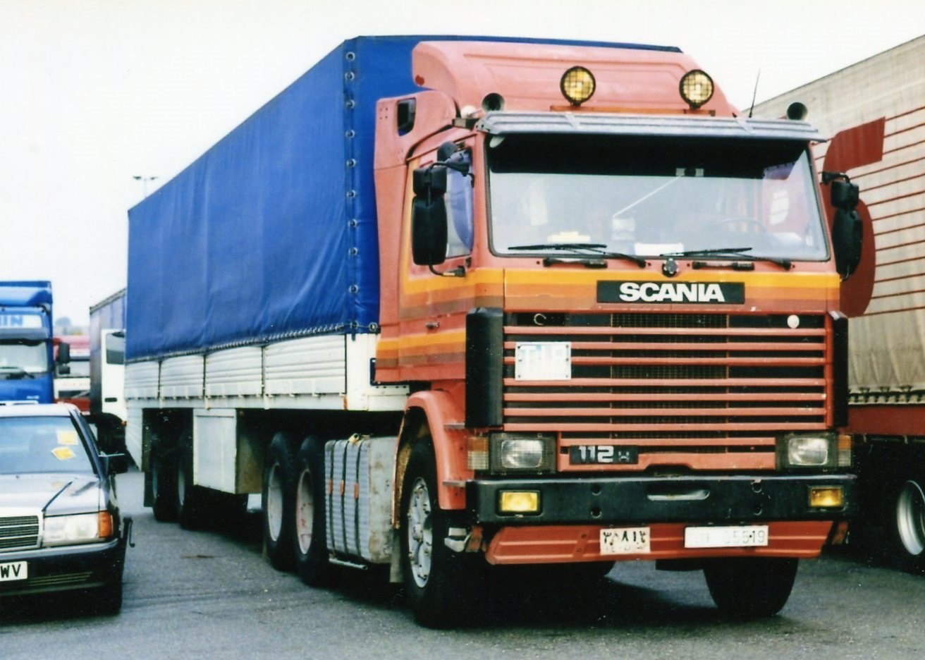 Scania Heavy Duty 112H 6X4