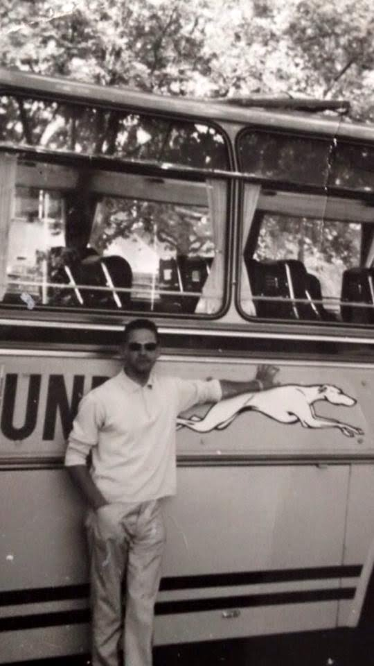 Jo  1964 Europatour..VAVO-Greyhound.