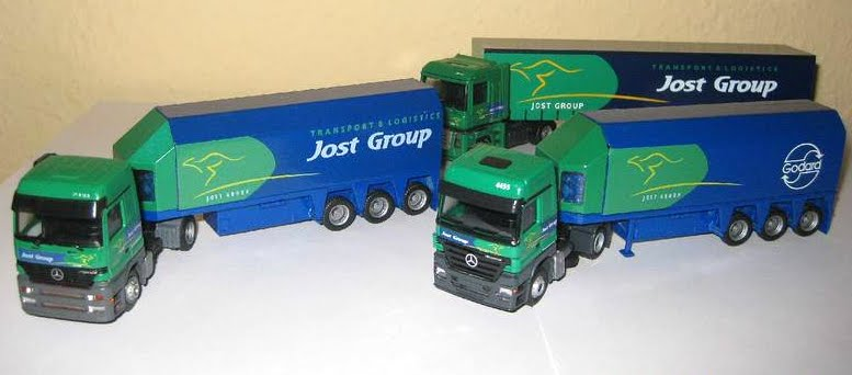 Model Actros.
