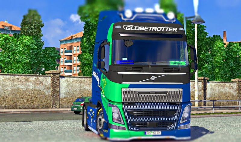 Volvo FH 16 Globetrotter.