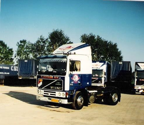Volvo F 10 op de parking Jo Borrie