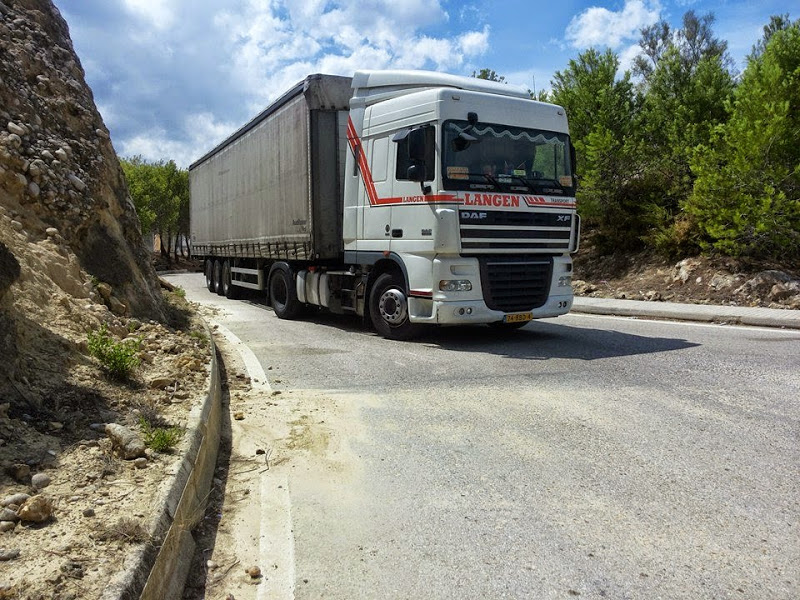 DAF-XF-in-Spanje