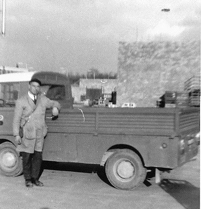 Béar In de Break oom met de Fiat 238.