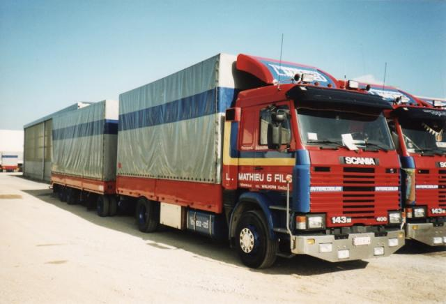Scania 143M Comby