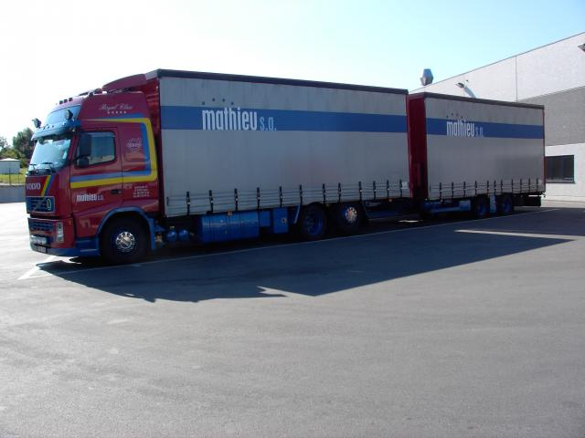 Volvo FH Globetrotter.