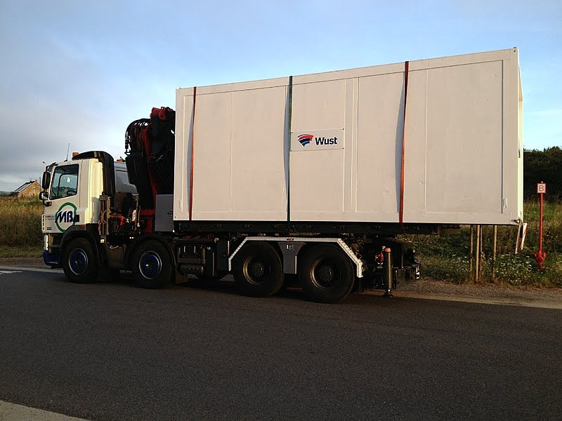 DAF Container transports