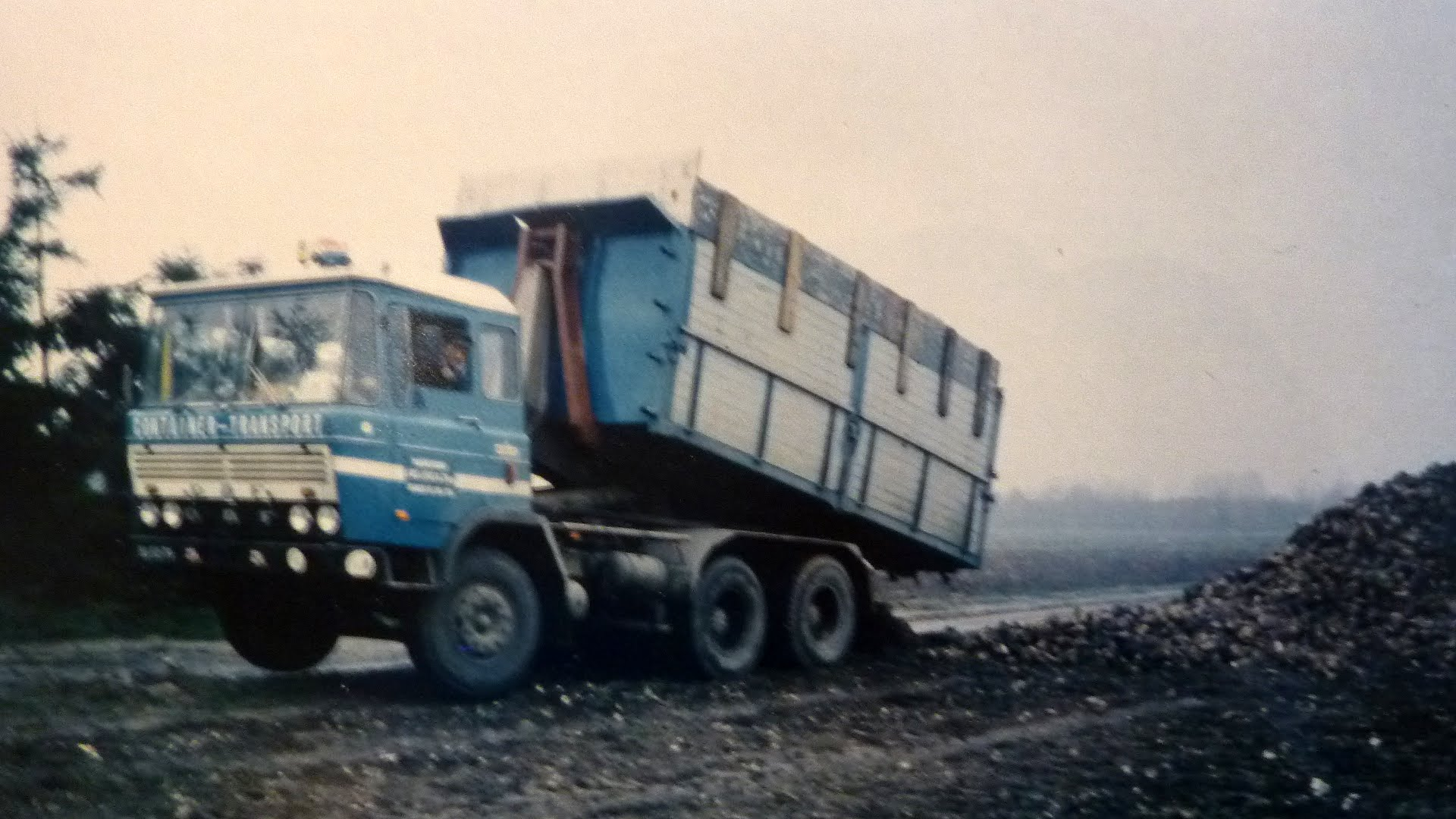 DAF 6X4 container