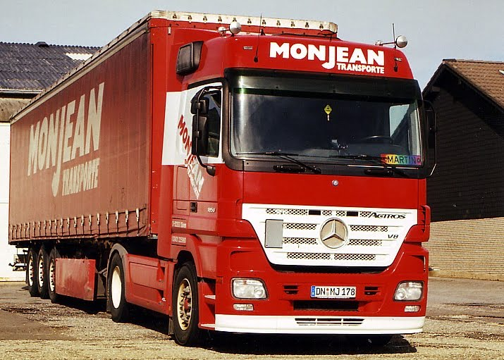 MB Actros MP2 LH 1850