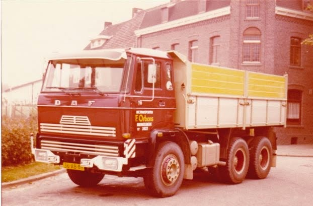 1978 DAF 6X4 Frits Orbons.