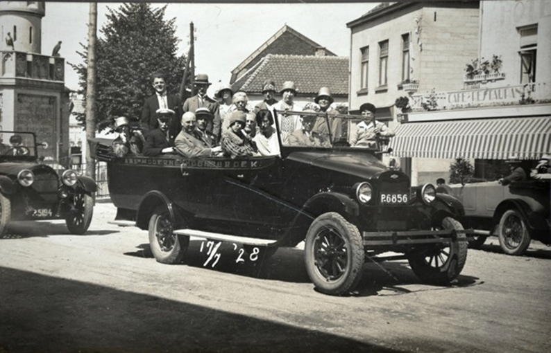 1928 Valkenburg chevrolet carr. van well _ Goerke_