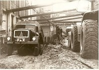 Magirus Deutz en tunnel bouw.