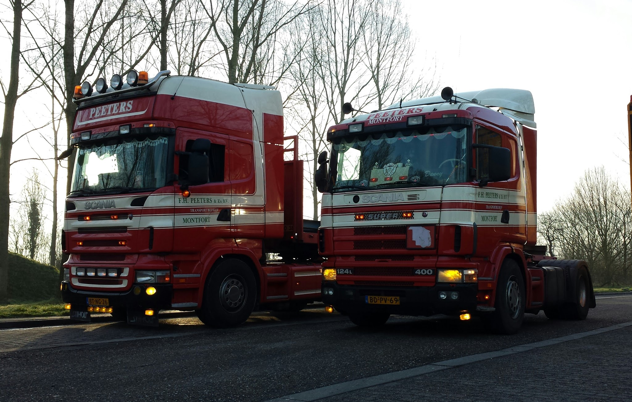 2 X Scania door Denny.