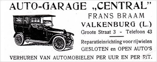 0 later rijsburo Mevis 1930  Auto Central Valkenburg