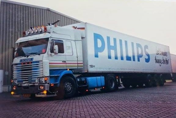 Scania met opl.Philips